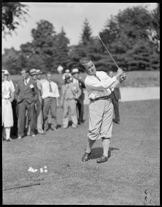Gene Sarazen at Winchester (MA) CC. 1930's